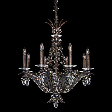 "Amytis Harvest 8-Light 25"" Wide Schonbek Crystal Chandelier"