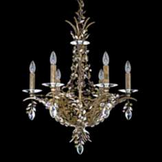 "Amytis Blossom 6-Light 20"" Wide Schonbek Crystal Chandelier"