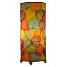 Eangee Multicolor Banyan Uplight Table Lamp