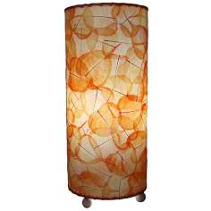 Eangee Orange Banyan Uplight Table Lamp