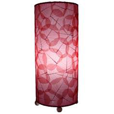 Eangee Red Banyan Uplight Table Lamp