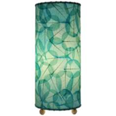 Eangee Sea Blue Uplight Table Lamp