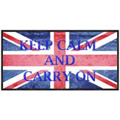 "Keep Calm and Carry On 20 1/2"" Wide Framed Wall Art"