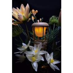 Battery Operated LED Bamboo Tiki Torch