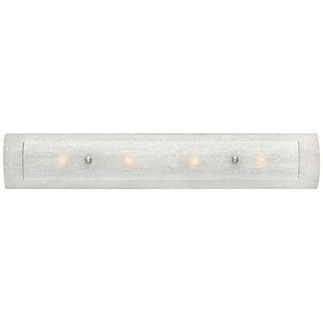 "Hinkley Duet 4-Light 30"" Wide Dual Glass Vanity Light"