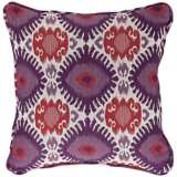"Alara 18"" Square Berry Pillow"