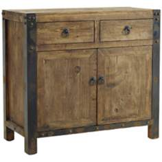 Jaden Reclaimed Oak Wood Server Cabinet