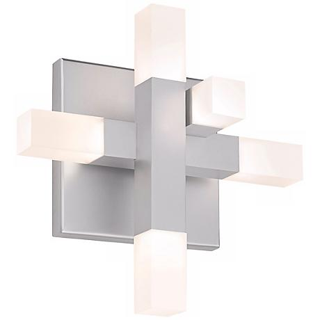"Sonneman Connetix 29"" Wide LED Wall Sconce"