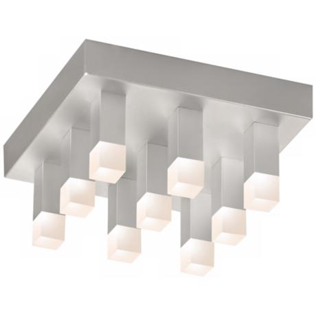 "Sonneman Connetix 9"" Wide LED Ceiling Light"