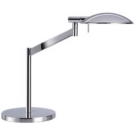 Robert Sonneman Perch Polished Chrome Desk Lamp