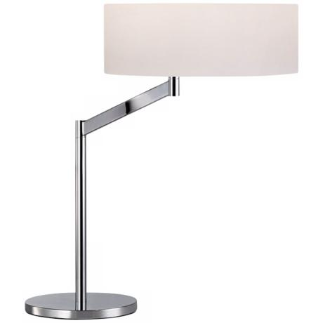 Sonneman Perch Polished Chrome Desk Lamp