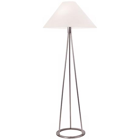Sonneman Tetra Satin Nickel Floor Lamp
