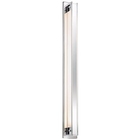 "Sonneman Accanto 40 1/4"" High Polished Chrome Wall Sconce"