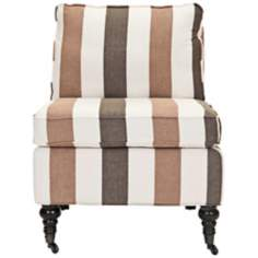 Safavieh Randy Striped Armless Club Chair