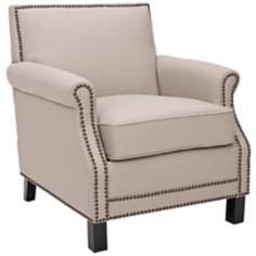 Safavieh Easton Beige Club Chair