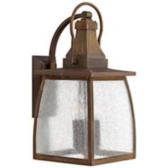 "Hinkley Montauk Sienna 19 1/2"" High Outdoor Wall Light"