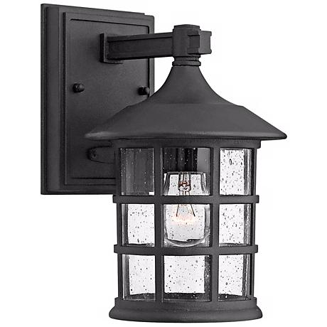 "Hinkley Freeport Black 9 1/4"" High Outdoor Wall Light"