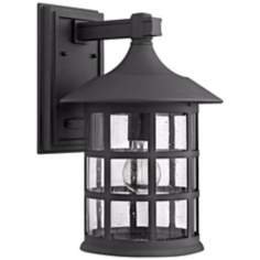 "Hinkley Freeport Black 15 1/4"" High Outdoor Wall Light"