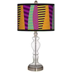 Mambo Giclee Apothecary Clear Glass Table Lamp