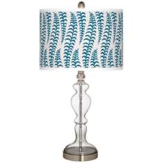 Stacy Garcia Fancy Fern Peacock Apothecary Table Lamp