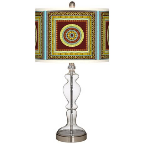Stacy Garcia Tiber Medallion Garnet Apothecary Table Lamp