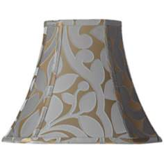 Lillian Floral Square Lamp Shade 7/7x14/14x11.5 (Spider)