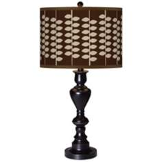 Hi-Fi Giclee Glow Black Bronze Table Lamp