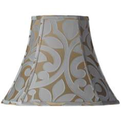 Lillian Floral Cut-Corner Lamp Shade 8/8x16/16x13 (Spider)