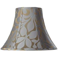 Lillian Floral Bell Lamp Shade 7x15x11.5 (Spider)