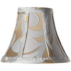 Lillian Floral Rectangle Lamp Shade 3x6x5 (Clip-on)