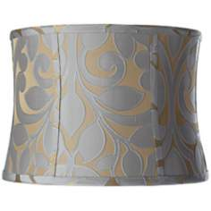 Lillian Floral Drum Lamp Shade 13x14x10 (Spider)