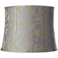 Lillian Floral Drum Lamp Shade 14x16x12 (Spider)