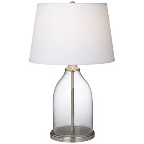 Closhe Fillable Glass Table Lamp