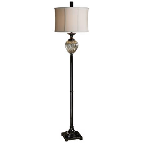 Uttermost Camerana Mercury Glass Floor Lamp