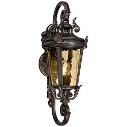 "Casa Marseille™ 19"" High Bronze Outdoor Wall Light"