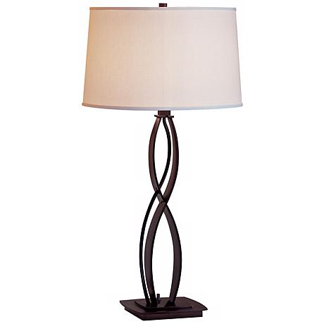 Hubbardton Forge Almost Infinity Bronze Table Lamp