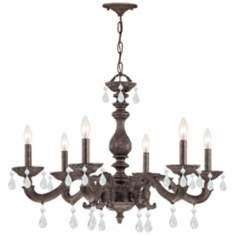 "Sutton 28"" Wide Venetian Bronze Chandelier"