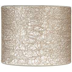 Transparent Fiber Lace Lamp Shade 14x14x11 (Spider)