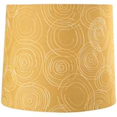 Golden Swirls Lamp Shade 12x13x11 (Spider)