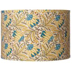 Hawaiian Vine Drum Lamp Shade 15x15x10x10 (Spider)