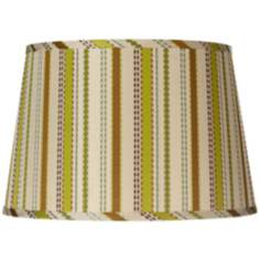 Jamie Young Chartreuse Ribbon Silk Shade 12x15x10 (Spider)