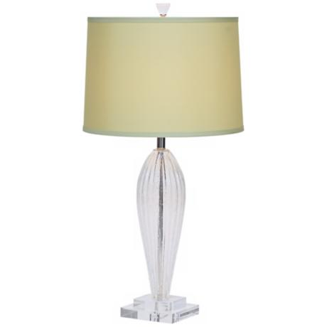 Romano Green Shade Hand-Blown Glass Table Lamp