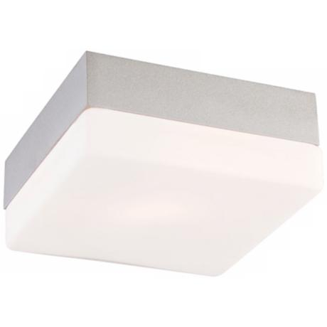 "Quad Mini 5 1/4"" Wide Metallic Gray Ceiling Light"