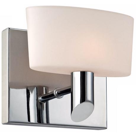 "Alico Toby 5 1/2"" Wide Chrome Wall Sconce"