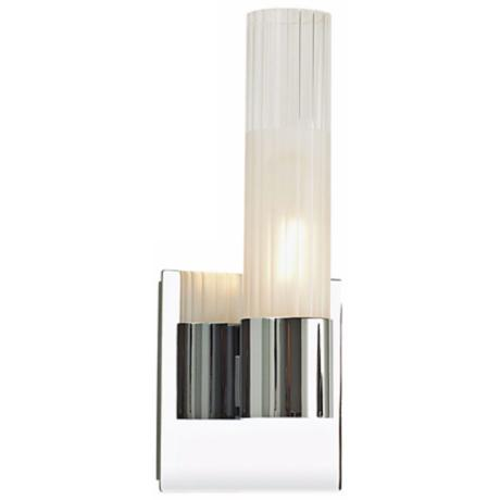 "Alico Regato Uno 11"" High Chrome Wall Sconce"