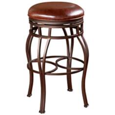 "American Heritage Bella 26"" Bourbon Backless Counter Stool"