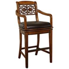 "American Heritage Francisco 30"" High Traditional Bar Stool"