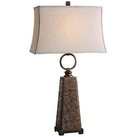 Uttermost Carsoli Bronze Table Lamp