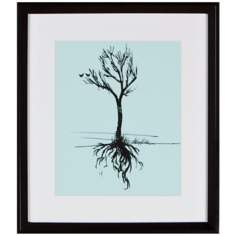 "Tree 16"" High Silhouette Wall Art"