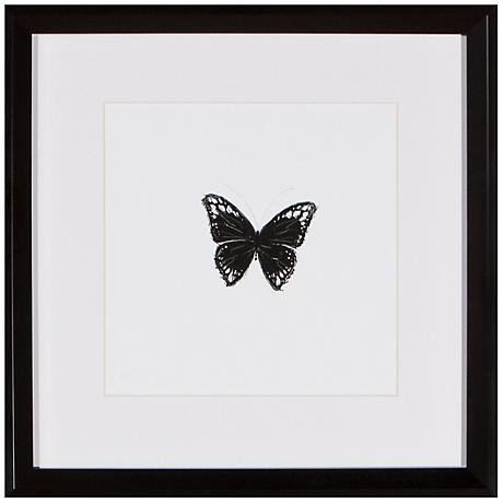 "Butterfly 13"" Square Silhouette Wall Art"